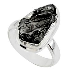 9.05cts solitaire natural campo del cielo 925 silver ring jewelry size 6 r51285