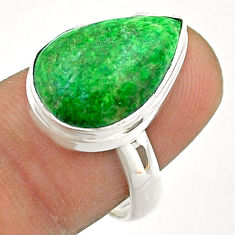 9.04cts solitaire natural maw sit sit 925 silver ring size 7.5 t54624