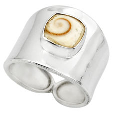 3.01cts solitaire natural white shiva eye 925 sterling silver ring size 7 r49903