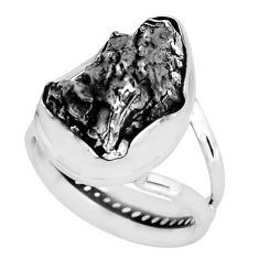 18.46cts natural campo del cielo 925 silver solitaire ring size 6.5 p69132