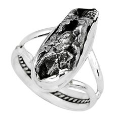 19.27cts natural campo del cielo 925 silver solitaire ring size 8.5 p69137