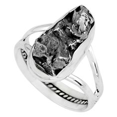 18.46cts natural campo del cielo 925 silver solitaire ring size 10 p69139